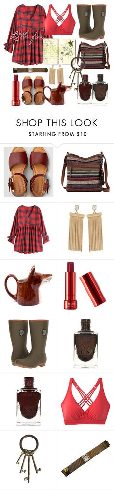 """""""Little fox"""" by tinakriss ❤ liked on Polyvore featuring American Eagle Outfitters, The Sak, May Moma, Quail, Kamik, prAna, Moleskine and Balenciaga"""