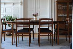 Darby Spisebord, ca Torbjørn Afdal. Icon Design, Teak, Furniture Design, Dining Table, Icons, Home Decor, Decoration Home, Room Decor, Dinner Table