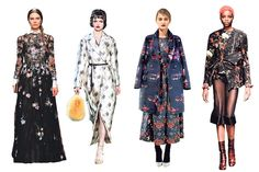 The Wall Street Journal. Floral Prints Go Dark for Fall Fashion. As summer time comes to an end dark romantic floral motifs are becoming the latest trend. Designers are taking the floral print and giving it a dark edgy twist for fall. Alexa T.