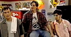 Watch the Unaired 'Clerks' TV Pilot Based on Kevin Smith's Movie -- Jim Breuer and Andrew Lowery starred as Randall and Dante in a failed 1995 TV pilot based on Kevin Smith's indie hit 'Clerks'. -- http://movieweb.com/clerks-tv-show-pilot/