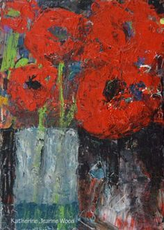 Katherine Jeanne Wood - 5x7 Flower Series No 56 01