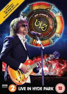 There is a moment during the excellent bonus documentary, Mr Blue Sky, that comes with the new DVD, Jeff Lynne's ELO: Live In Hyde Park, where Lynne talks Hyde Park, Rock And Roll, Rock & Pop, Roy Orbison, Tom Petty, London Calling, Bruce Springsteen, Music Like, New Music