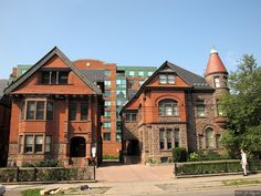176 & 178 St. George St., Toronto by john fitzgerald in toronto, via Flickr Toronto Architecture, John Fitzgerald, Coast, Canada, Mansions, History, House Styles, Places, Pictures
