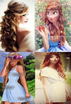 Royal Mix : Elsa, Anna, Raiponce, Mérida
