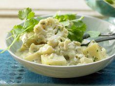 Kartoffel-Blumenkohl-Curry auf indische Art: Kartoffel-Anregung aus der indischen Küche - supereinfach in der Zubereitung.