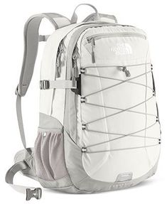The North Face Backpack, Borealis - Backpacks & Laptop Bags - Handbags & Accessories - Macy's North Face Backpack Borealis, North Face Borealis, White Backpack, Backpack Bags, Fashion Backpack, Messenger Bags, Fashion Bags, Tween Fashion, College Fashion