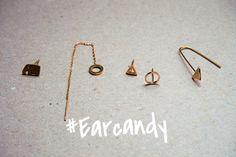 #Earcandy Hoop Earrings, Jewelry, Jewlery, Bijoux, Schmuck, Jewerly, Jewels, Jewelery, Fine Jewelry