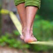 By Ryan Stuart  The studies are adding up painting slacklining as a legitimate injury recovery and prevention exercise.
