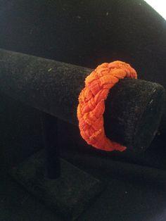 Orange Cotton Bangle!!