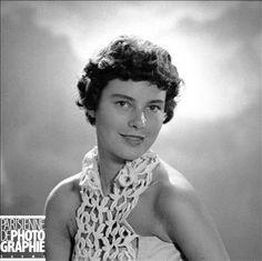 NICOLE DROUIN MISS FRANCE 1951