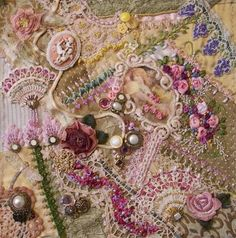 RIBBON EMBROIDERY / CRAZY QUILTING