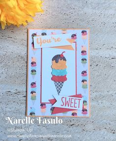 Cool Treats - Simply Stamping with Narelle