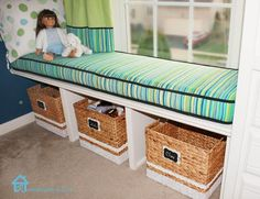 DIY Furniture : DIY Window Bench