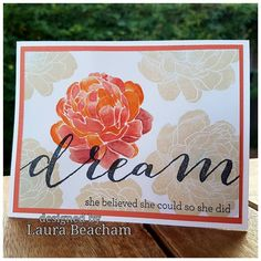 """84 Likes, 4 Comments - Creative with Heart (@laurascreativepages) on Instagram: """"#dream #believe"""""""