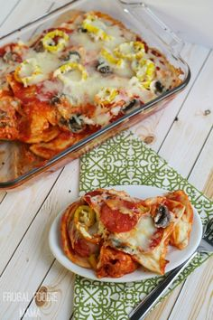 Pizza Pierogi Casserole is perfect for a busy weeknight or to bring to a friend in need. It also  freezes well!