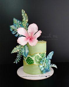 Birthday Cake Roses, Birthday Cakes For Teens, Beautiful Birthday Cakes, Cool Birthday Cakes, Beautiful Cakes, Amazing Cakes, Cupcakes, Cupcake Cakes, Edible Photo Cake