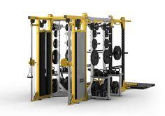 Fitness Equipment, No Equipment Workout, Home Gym Machine, Workout Stations, Gym Setup, Personal Gym, Big Girl Toys, Gym Machines, Home Gym Design