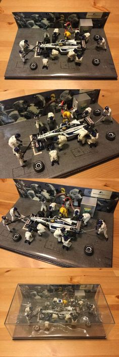 Formula 1 Cars 180270: 1 43 Minichamps Bmw Williams Fw22 Pitstop Diorama 2000 Ralf Schumacher -> BUY IT NOW ONLY: $149.99 on eBay!