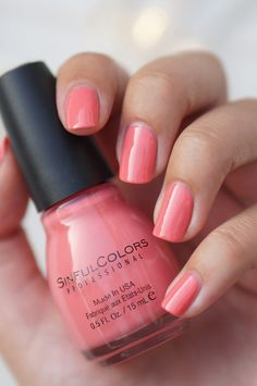 Sinful Colors Island Coral My current nail color