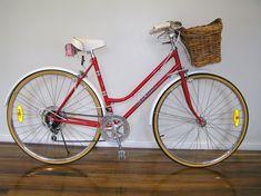 Vintage Ladies Bike, Ladies Bikes, Restoration, Bicycle, Yellow, Bike, Bicycle Kick, Bicycles