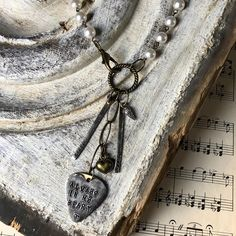 """Kris Lanae Binsfeld on Instagram: """"My heart goes out to this family that lost their Beloved Husband and Dad before the holidays. I was asked to create a memory necklace for…"""" My Heart, Going Out, Dads, Husband, Lost, Pendant Necklace, Memories, Holidays, Create"""