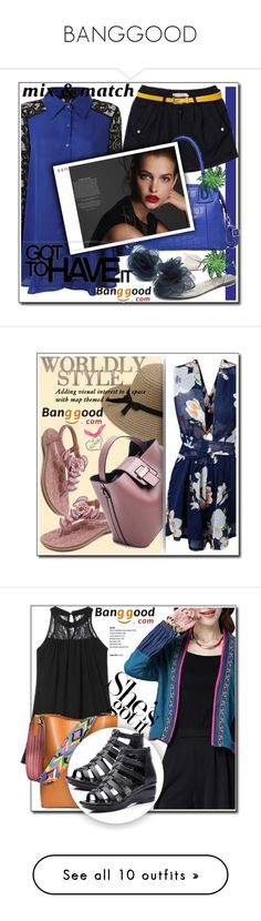 """""""BANGGOOD"""" by danijela-3 ❤ liked on Polyvore featuring Bloomingdale's and WALL"""