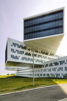Statoil Regional & International Offices designed by A-lab. Fornebu, Oslo.