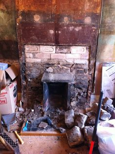 Open fire needs work, bricks are unstable and need to be re laid