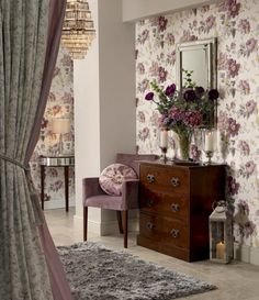 laura ashley | Amethyst Peony styled by Charis White. Photography: Chris Everard.