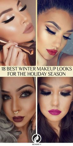 The sexiest winter makeup looks that are ideal for the holiday season!
