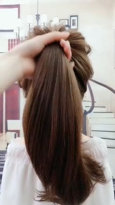 braided hairstyles for long hair hairstyles near me hairstyles shaved sides hairstyles tutorial hairstyles 2018 little black girl hairstyles quick and easy hairstyles black woman 2018 hairstyles in a bun Easy Hairstyles For Long Hair, Party Hairstyles, Braided Hairstyles, Cool Hairstyles, Beautiful Hairstyles, Hairstyles Videos, Wedding Hairstyles, Ponytail Hairstyles Tutorial, Kids Hairstyle