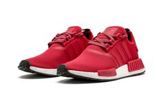 "Adidas NMD R1 ""EURO"" RED BY2503 MEN SHOES SNEAKERS J"