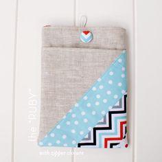 ipad and kindle sleeve sewing tutorial
