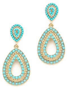 drop earrings, $42 - 10 Glam Prom Accessories