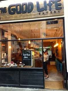 The Good Life Eatery: West Coast to South Ken – Blondon
