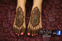 Sanam Baloch's Wedding (feet Design)
