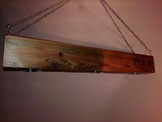 wood chandelier, led, lamp