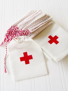 First Aid Hangover Cross Kit Bag Party Favor by FirstsAndForevers