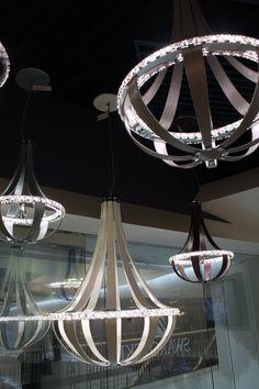 1000 images about swarovski crystal lighting on pinterest. Black Bedroom Furniture Sets. Home Design Ideas