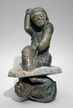 Contemporary Inuit Art Sculptures & Soapstone carvings. Extensive collection of Inuit originals by Internationally recognized Artist Abraham Anghik Ruben.