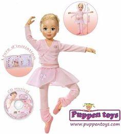 Doll Jolina Ballerina 34cm ZAPF CREATION - Juguetes Puppen Toys