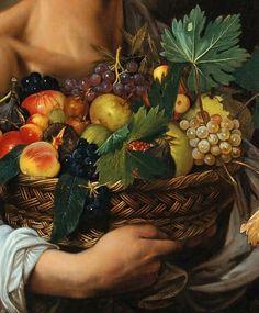 Caravaggio fruit. Beautiful.