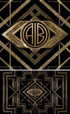 The Great Gatsby Monogram Maker Neato Pinterest Monogram