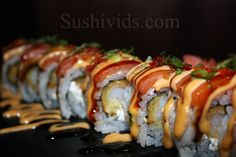 The OMG Sushi Roll....mhmm