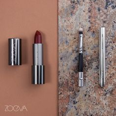 Red lipstick is the little black dress of beauty. Try our Cross My Heart Luxe Cream Lipstick and add some precision with the essential 330 Lip Contour brush. www.zoeva.de