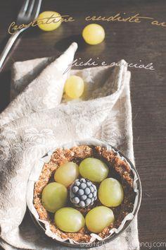 Paciocchi di Francy: Crostatine ai fichi e nocciole ( raw, senza glutine, vegane e senza zucchero )