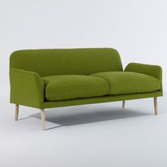 Faudet-Harrison Kenneth Sofa #home #homedecor #decoration #lime #green #sofa