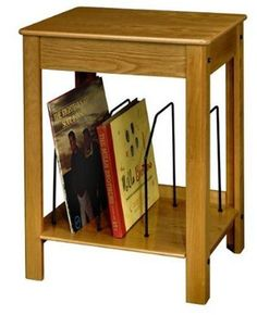 Crosley Turntable/Entertainment Center Stand, Oak (Discontinued by Manufacturer) Retro Record Player, Record Player Stand, Record Holder, Record Players, Retro Living Rooms, Living Room Decor, Living Room Speakers, End Tables, A Table