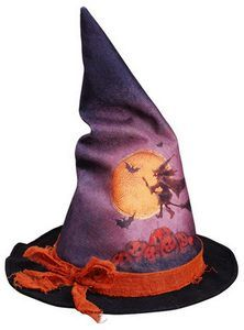 witches dancing | Halloween Witch's Hat Dances & Cackles