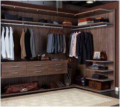 Man Closet.....courtesy of California Closets